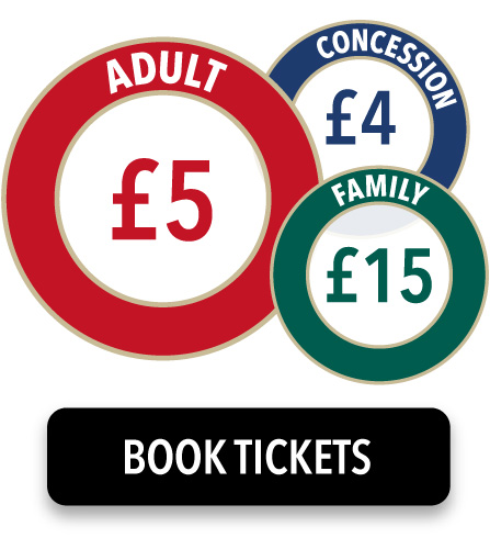 Adults £5, Concessions £4, Family £15
