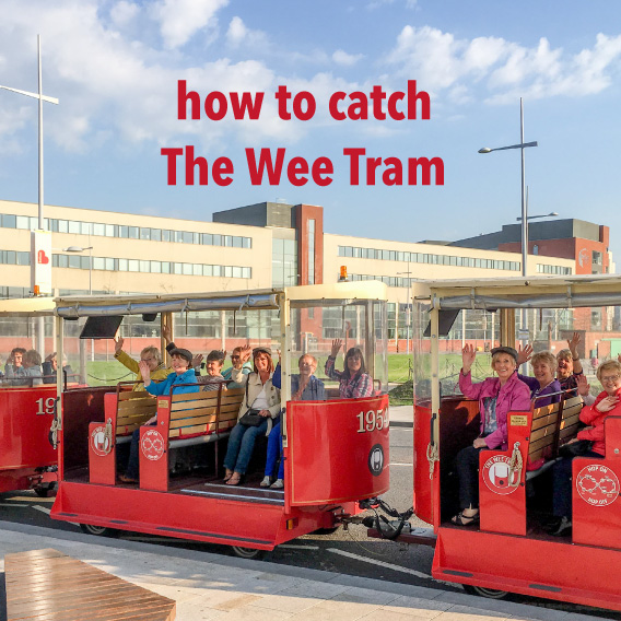 How to catch The Wee Tram